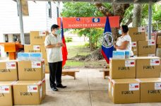 Taiwan donates 1,500 COVID-19 antigen tests to Belize
