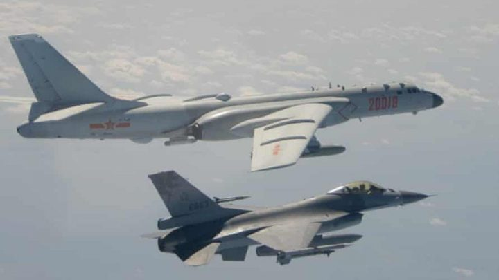 US says China military pressure against Taiwan threatens peace