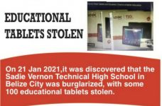 Thieves hit Sadie Vernon Technical for Ministry of Education tablets