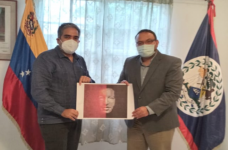 Venezuela and Belize continue to strengthen relations, Ambassador meets with government minister