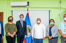 U.S. Embassy's Chargé d' Affaires visits Minister of Health and Wellness