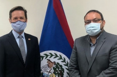 Minister of Public Service, Constitutional and Political Reform meets with U.S. Embassy's Charge d' Affaires