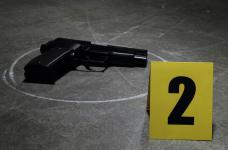 Police investigate shooting in La Democracia Village