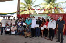 Thirty farmers in Northern Belize complete sheep training