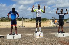 Kent 'Bob' Gabourel wins 1st official Weekend Warriors 40-mile cycling race in a year in 1:52:27