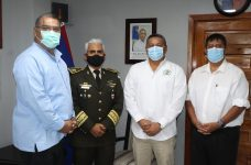Minister of National Defence and Border Security meets with Guatemala's Defence Attaché