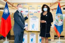 Dr. Candice Pitts receives donation