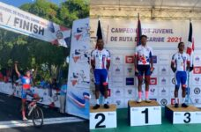 Belize's Derrick Chavarria wins gold in Caribbean Junior Road Cycling Championship