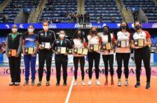 Belize's Sherika Burton wins Top Scorer award at Central American Senior Women's Volleyball Championship