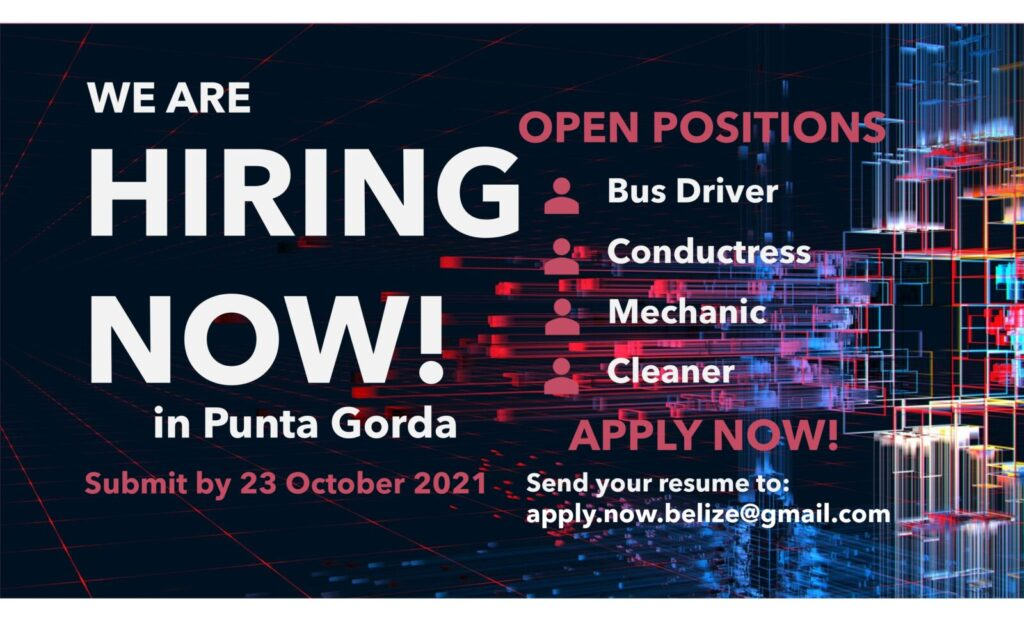 New company hiring now