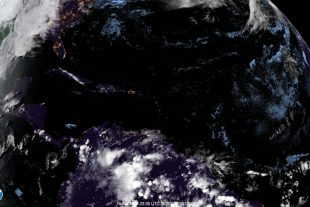 Cold front affecting Belize